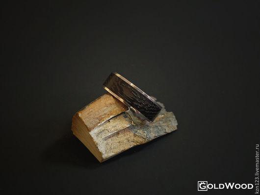 """Кольца ручной работы. Ярмарка Мастеров - ручная работа. Купить Кольцо """"Linewood"""" Венге. Handmade. Черный, кольцо из дерева"""