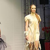 "Одежда ручной работы. Ярмарка Мастеров - ручная работа Авторское валяное платье ""Butterfly wings"" коллекция ""Angel and Demon"". Handmade."