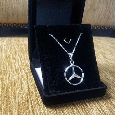 Сувениры и подарки ручной работы. Ярмарка Мастеров - ручная работа Mercedes Necklace. Handmade.