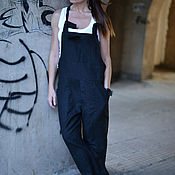Одежда handmade. Livemaster - original item Summer suit of flax - JP0408LE. Handmade.