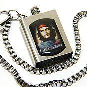 """Субкультуры handmade. Livemaster - original item Lighters With symbols of the USSR """"Comandante Che `` petrol. Handmade."""