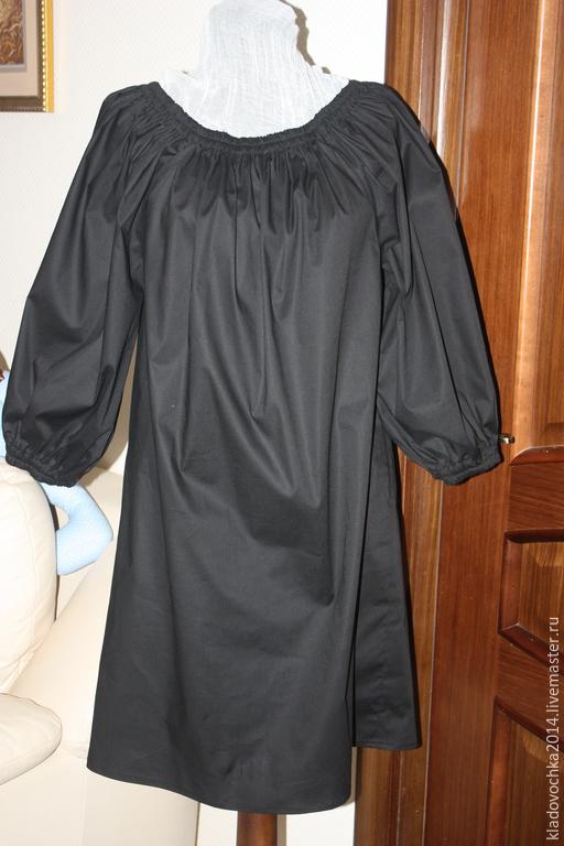 Платья ручной работы. Ярмарка Мастеров - ручная работа. Купить Маленькое Черное платье. Handmade. Черный, платье на лето