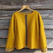 Одежда handmade. Livemaster - original item Felted jacket. Handmade.