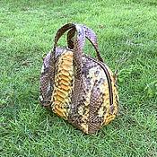Сумки и аксессуары handmade. Livemaster - original item Handbag made of Python SETAIRE. Handmade.