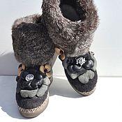 """Обувь ручной работы. Ярмарка Мастеров - ручная работа Валенки """"Мягкие лапки"""". Handmade."""