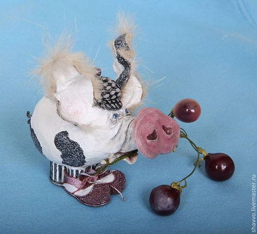 Куклы и игрушки ручной работы. Ярмарка Мастеров - ручная работа. Купить Клоун Асисяй. Handmade. Авторская ручная работа, свинья