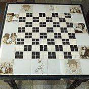 """Шахматный стол """"Старое кино"""""""