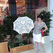 Свадебный салон ручной работы. Ярмарка Мастеров - ручная работа Вязанный зонтик. Handmade.