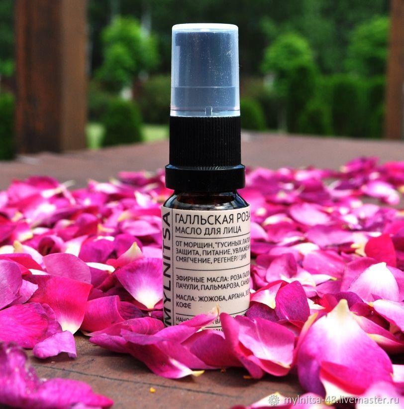 Gallic rose, rose oil for face, 10 ml, Face Oil, Lipetsk,  Фото №1