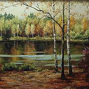 Картины и панно handmade. Livemaster - original item Landscape. Handmade.