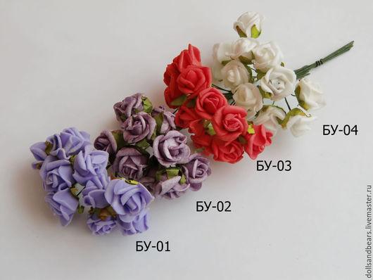 Куклы и игрушки ручной работы. Ярмарка Мастеров - ручная работа. Купить Букет из 10 роз. Handmade. Разноцветный, цветы