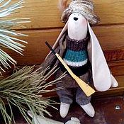 Куклы и игрушки ручной работы. Ярмарка Мастеров - ручная работа Тильда Заяц Охотник. Handmade.