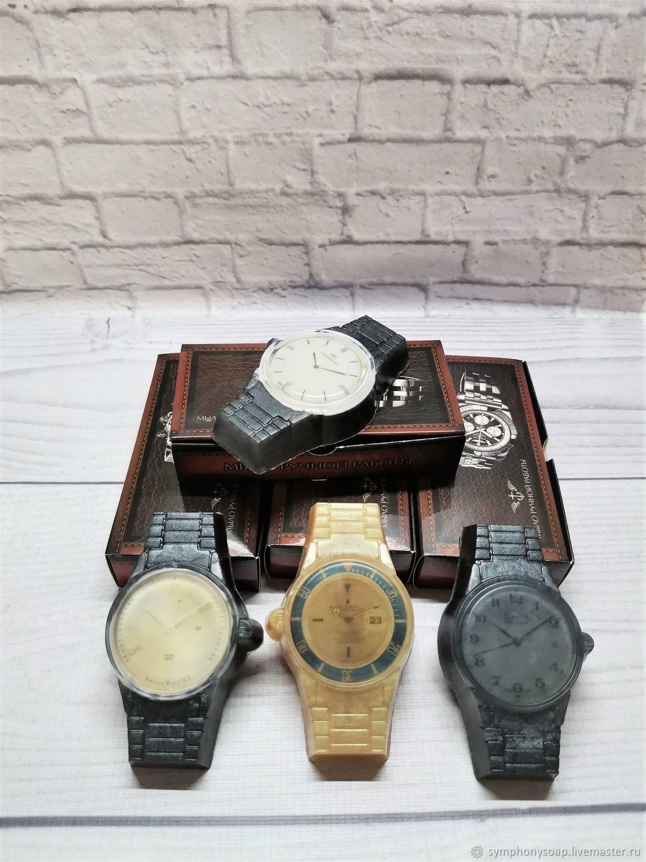 """Мыло """"Часы в подарочной коробочке"""", Мыло, Москва,  Фото №1"""