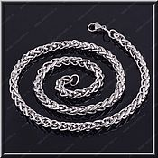 Украшения handmade. Livemaster - original item Chain steel no. 4 Length 50,60,70,80 cm.. Handmade.