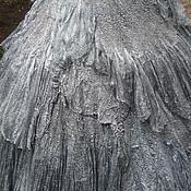 """Одежда ручной работы. Ярмарка Мастеров - ручная работа Юбка  стиль бохо на запахе """"Королевская тёмно-серая"""". Handmade."""