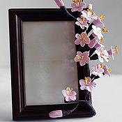 Цветы и флористика ручной работы. Ярмарка Мастеров - ручная работа Рамочка для фото. Handmade.