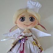 """Куклы и игрушки ручной работы. Ярмарка Мастеров - ручная работа Текстильная кукла  """"Маленькая феечка"""" №3. Handmade."""