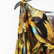 """Одежда ручной работы. Ярмарка Мастеров - ручная работа Платье коктейльное из шелка """"Клео"""". Handmade."""