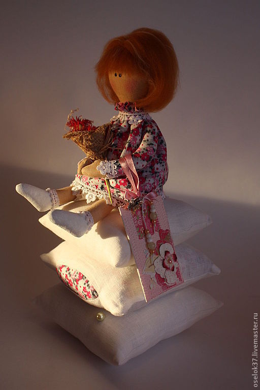 Куклы Тильды ручной работы. Ярмарка Мастеров - ручная работа. Купить Принцесса на горошине. Handmade. Кукла ручной работы, тильда