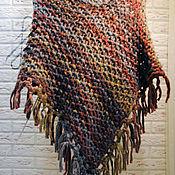 Одежда ручной работы. Ярмарка Мастеров - ручная работа Пончо накидка (меланж). Handmade.