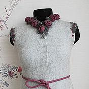 """Одежда ручной работы. Ярмарка Мастеров - ручная работа Жилет""""Розы в тумане"""". Handmade."""