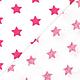 Шитье ручной работы. Немецкий хлопок ярко-розовые звездочки. Ткани из Германии (Hobbyundstoff). Интернет-магазин Ярмарка Мастеров.