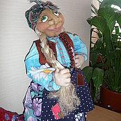Куклы и игрушки ручной работы. Ярмарка Мастеров - ручная работа Баба-Яга на чайник. Handmade.