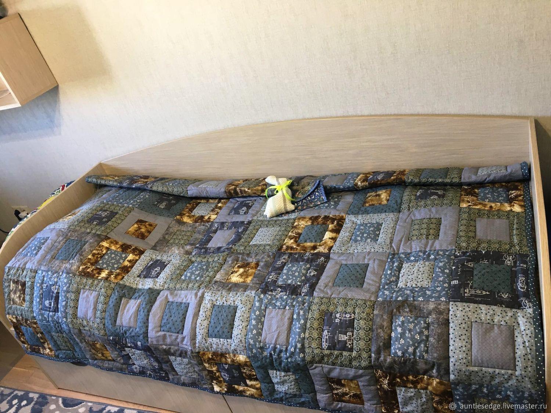 "Одеяло стеганое лоскутное ""Сорви-голова"", Одеяла, Курск,  Фото №1"