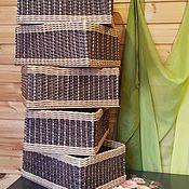 Для дома и интерьера handmade. Livemaster - original item Wicker basket. Handmade.