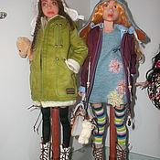 Куклы и игрушки ручной работы. Ярмарка Мастеров - ручная работа Варвара и Катюша.(шарнирные куклы). Handmade.