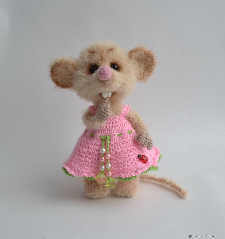 MK mouse Button-Button (hook), Knitting patterns, Chrysostom,  Фото №1