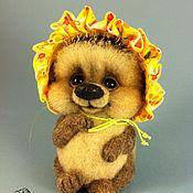 Куклы и игрушки ручной работы. Ярмарка Мастеров - ручная работа Ежик валяный Одуванчик. Handmade.