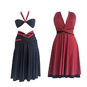 Одежда handmade. Livemaster - original item Cocktail dress, convertible Dresses, Dresses for bridesmaids. Handmade.