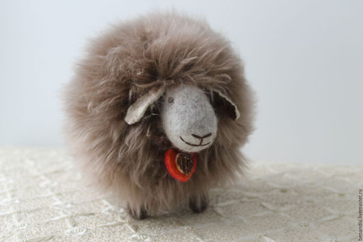 Игрушки животные, ручной работы. Ярмарка Мастеров - ручная работа. Купить Барашек. Handmade. Овечка, овечка из шерсти, овцы