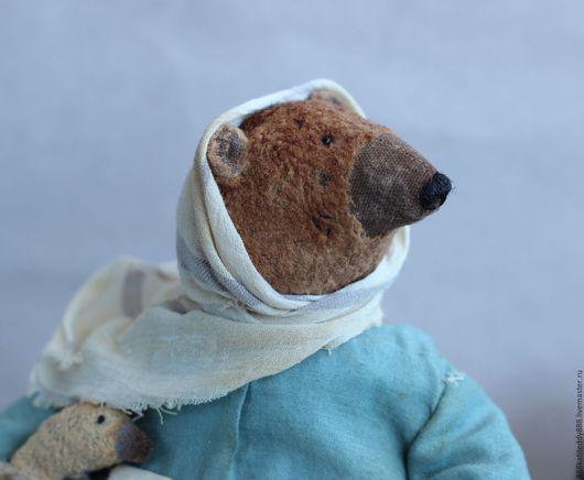 Мишки Тедди ручной работы. Ярмарка Мастеров - ручная работа. Купить Крестьяночка. Handmade. Мишка тедди, тедди мишка, бурый