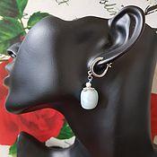 Украшения handmade. Livemaster - original item Earrings larimar. Handmade.