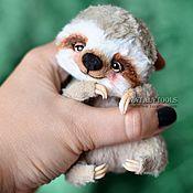 Куклы и игрушки ручной работы. Ярмарка Мастеров - ручная работа малыш Ленивец коллекционная игрушка ленивец тедди. Handmade.