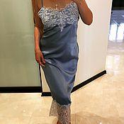 Одежда handmade. Livemaster - original item Slip dress YULIYA LEV. Handmade.