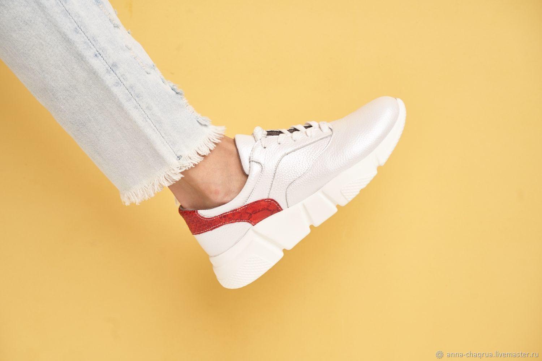 Обувь ручной работы. Ярмарка Мастеров - ручная работа. Купить Кроссовки Anna Chaqrua. Handmade. Обувь, женские кроссовки