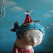 Куклы и игрушки ручной работы. Ярмарка Мастеров - ручная работа Море в голове. Handmade.