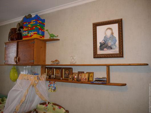 Мебель ручной работы. Ярмарка Мастеров - ручная работа. Купить Полка для дома. Handmade. Комбинированный, мебель на заказ