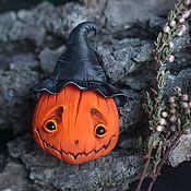 Украшения handmade. Livemaster - original item Tikva the brooch for Halloween. Handmade.