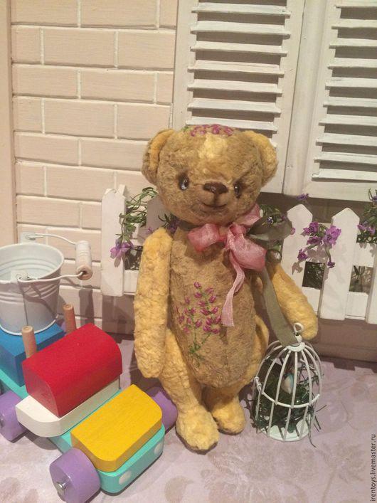 """Мишки Тедди ручной работы. Ярмарка Мастеров - ручная работа. Купить Мишка тедди  """"Барбарис"""". Handmade. Бежевый, игрушка в подарок"""
