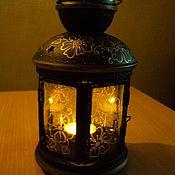 Для дома и интерьера ручной работы. Ярмарка Мастеров - ручная работа фонарь декоративный. Handmade.