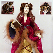 Куклы и игрушки ручной работы. Ярмарка Мастеров - ручная работа Кукла. Средневековая Принцесса.. Handmade.