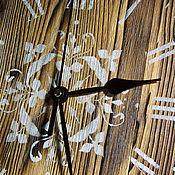 """Для дома и интерьера ручной работы. Ярмарка Мастеров - ручная работа Часы настенные """"Wood"""". Handmade."""