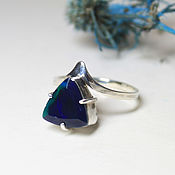 Украшения handmade. Livemaster - original item Ring with Opal. Handmade.
