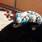 Для домашних животных, handmade. Livemaster - original item Clothing for cats,