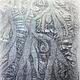 Платья ручной работы. Заказать Платье валяное Серебрянные  струи. Юлия Блохина           (Wool charm). Ярмарка Мастеров. Жемчужно-серый
