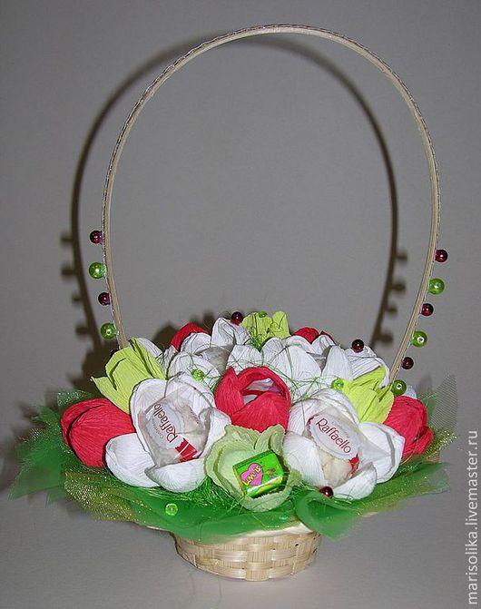 Кулинарные сувениры ручной работы. Ярмарка Мастеров - ручная работа. Купить Весенний первоцвет. Handmade. Белый, на юбилей, подарок для девушки